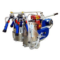 Portable (motor Cum Engine) Single Bucket Milking Machine