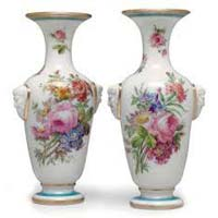 Opaline Glass Vases