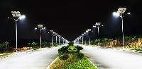 solar powered led street light