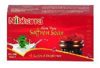Nibharra Aloe Vera Saffron Soap