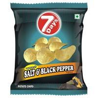 7days - Salt & Black Pepper Potato Chips