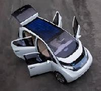 Solar Battery Operated Vehicle
