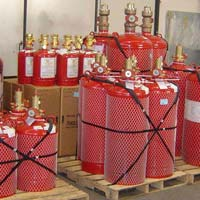 FM200 Gas Based Fire Suppression System AMC