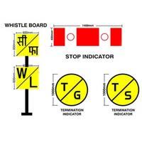 Railway Sign Boards