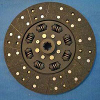 Crane and Tractor Clutch Plate with Black Facing