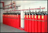 Gas Based Fire Suppression System