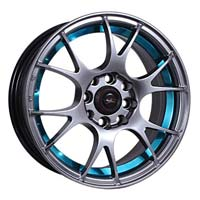 14'' 100+108x8 Blue Lip-hb Automotive Wheels