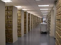 Steel Office Record Storage Shelving Systems