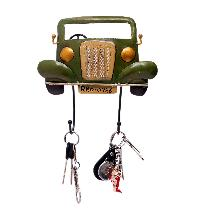 Vintage Car Key Ring Holder