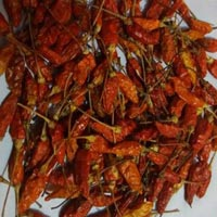 Dried Birds Eye Red Chilli