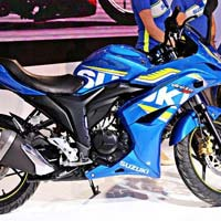 Suzuki Gixxer Sf Double Disc Bike