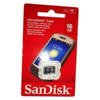 16 GB SanDisk Memory Card