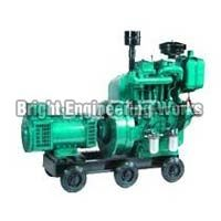 Double Cylinder Air Cooled Generator Set