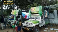 Led screen video van on rent in Delhi ,Mumbai ,Lucknow