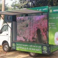 Best Outdoor Led Screen Video Van On Hire In Lucknow..