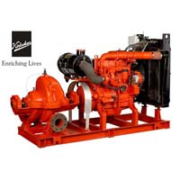 Kirloskar Factory Fitted Fire Fighting Diesel Engine Driven..