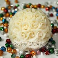 Rose Ball Aroma Designer Candle