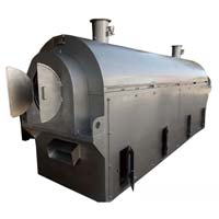 Corn Flakes Roaster Machine