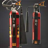 Carbon Dioxide Mobile Fire Extinguisher