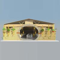 Bamboo Restaurant Design Services