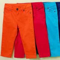 Girls Non Denim Jeans