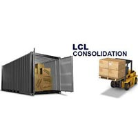 LCL Consolidation Freight Forwarding