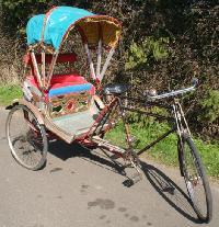 Eco Body Cycle Rickshaw