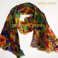 Wool Digital Printed Stoles