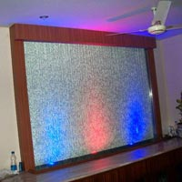 Glass Waterfall Designing And Installation