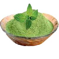 MINT LEAVES AND POWDER