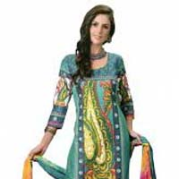Ladies Salwar Kameez - Manufacturer, Exporters and Wholesale Suppliers,  Uttar Pradesh - Deistic Communications Pvt. Ltd.