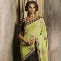 Georgette Sarees - Manufacturer, Exporters and Wholesale Suppliers,  Chhattisgarh - Siremal Manaklal Deshlahra
