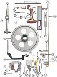 Box Stitching Machines Spare Parts
