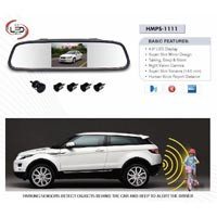 Reverse Parking Sensor With Camera & Mirror