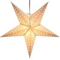 Paper Star Lamps