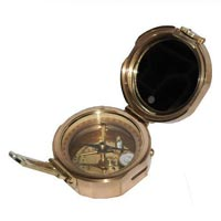 Brass Brunton Compass