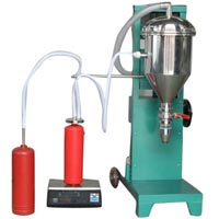 Fire Extinguisher Filling Machine