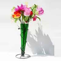 Glass Flower Pot