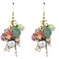 Semi Precious Stone Earrings
