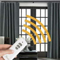 Motorized Curtains