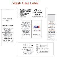 Wash Care Labels