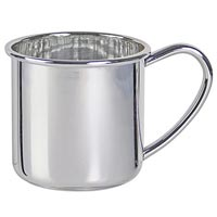 Silver Baby Cups