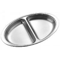 Steel Serving Dish