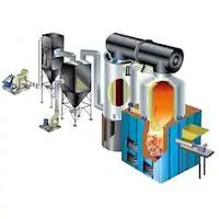 Thermic Fluid Air Heater