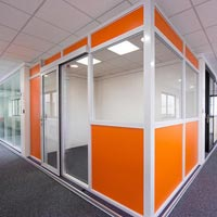 Aluminum Office Partition