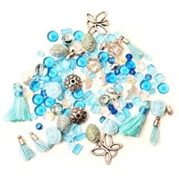 Glass Gem Stone & Other Beads