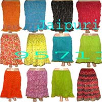 Crinkle Skirts