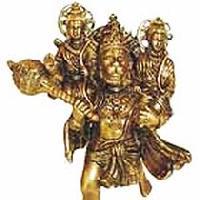 Brass Hanuman Statues