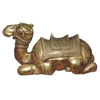 Brass Camel Statue