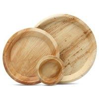 Round Areca Plates